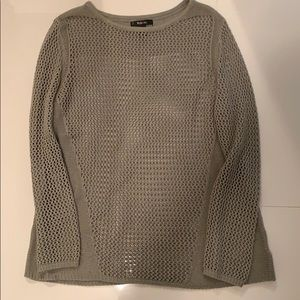 Style & Co green sweater M-L